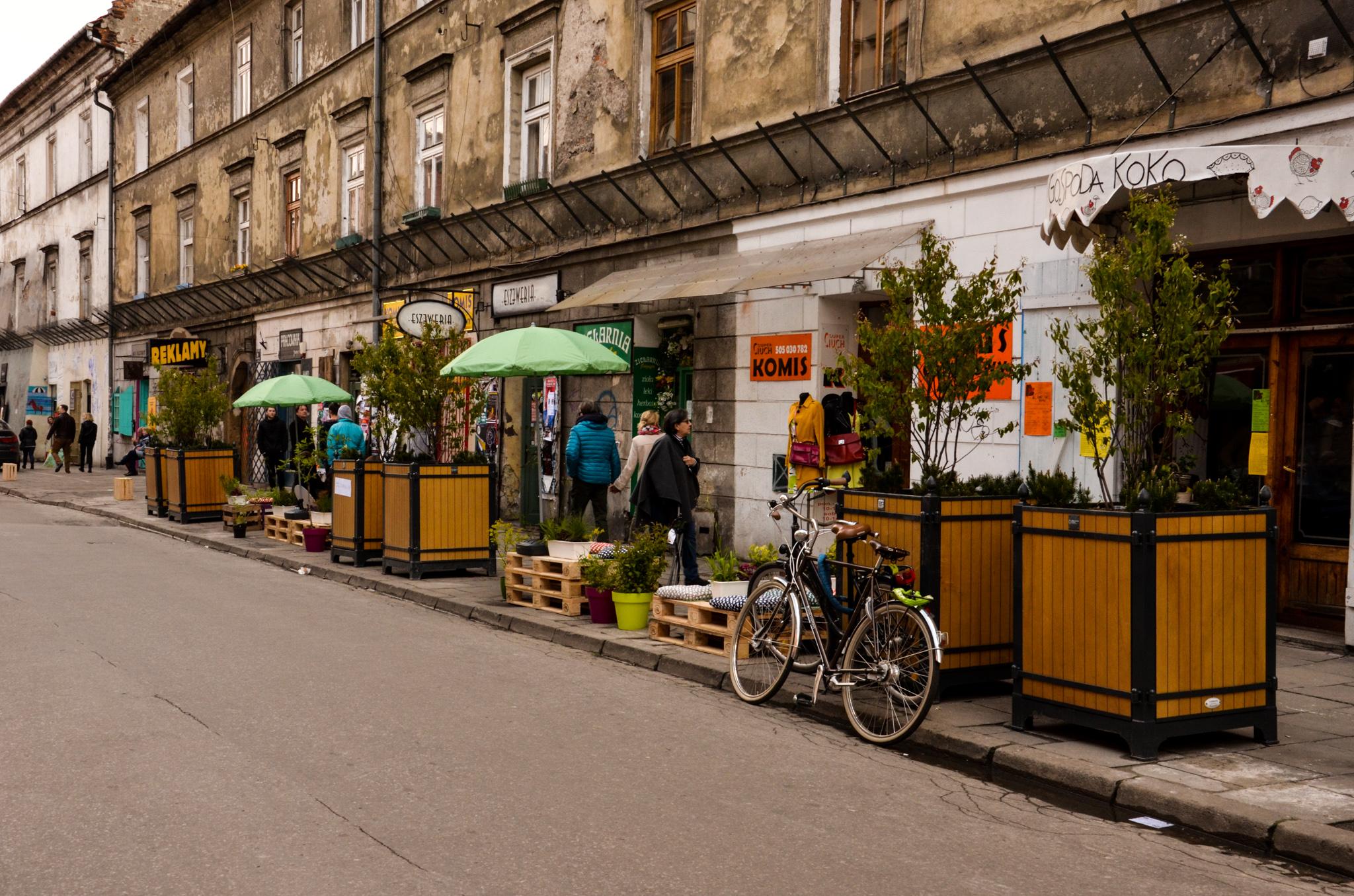 ulica Józefa, Żywa Ulica w Krakowie, rok 2017, fot. Marek Grochowicz