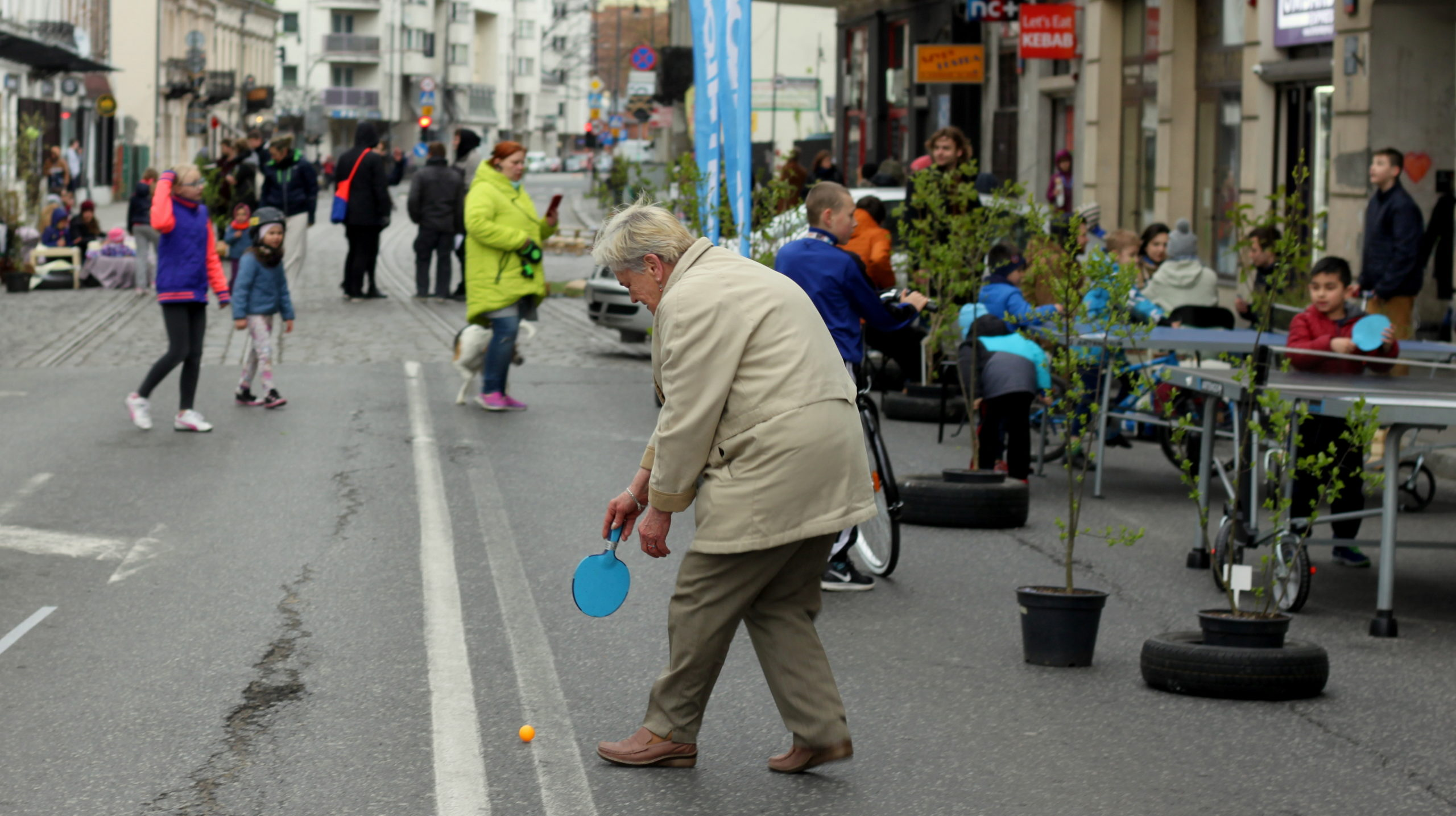 ulice Ząbkowska i Wileńska, Żywa Ulica w Warszawie, rok 2017, fot. Anna Pomichowska