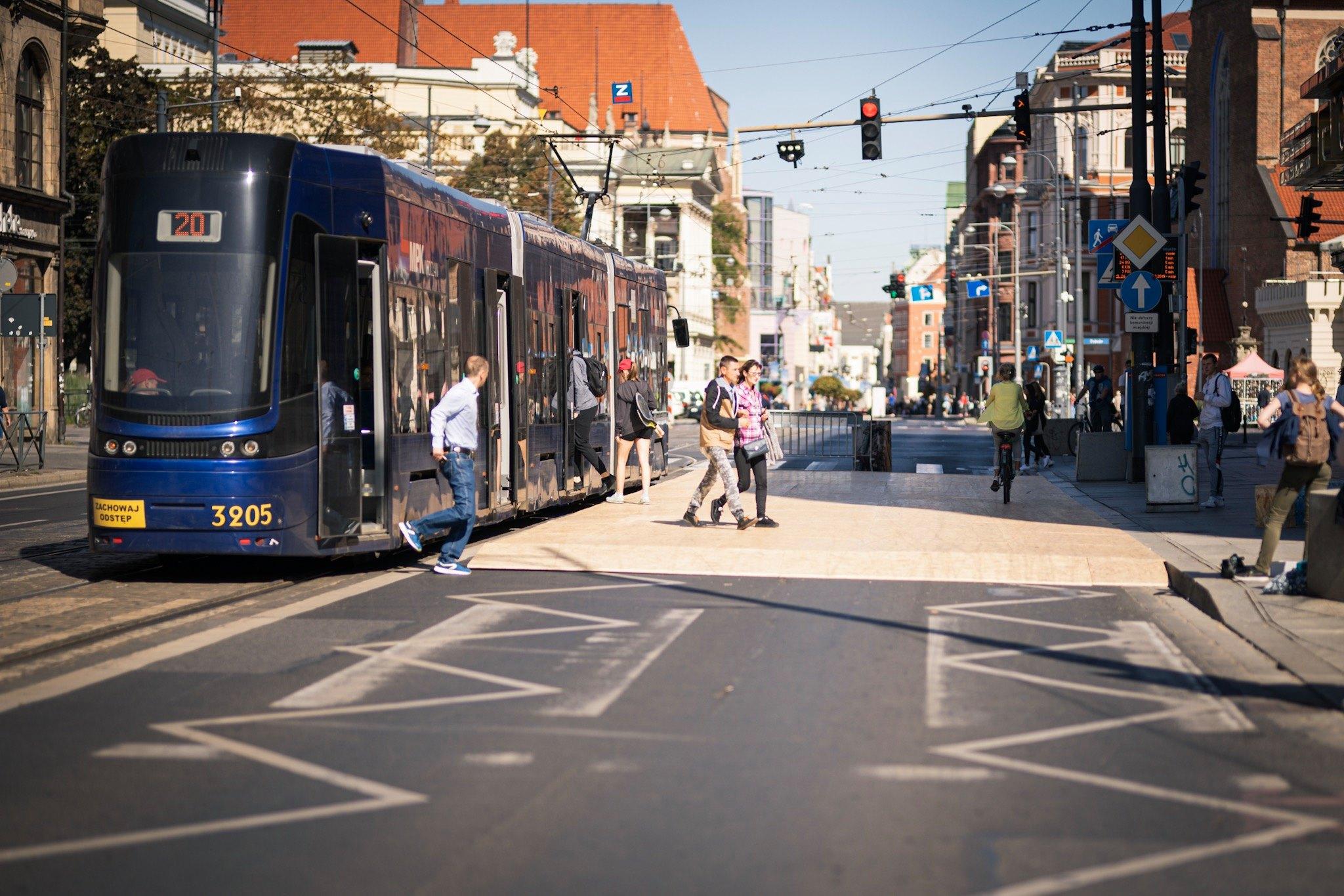 plac Kościuszki, Żywa Ulica we Wrocławiu, rok 2019, fot. Barbara Celebucka